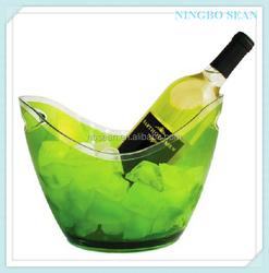 8L gold ingot vodka acrylic ice bucket cooler