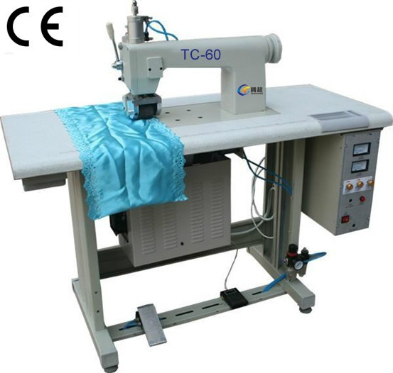 ultrasonic manual non woven bag making machine. Black Bedroom Furniture Sets. Home Design Ideas