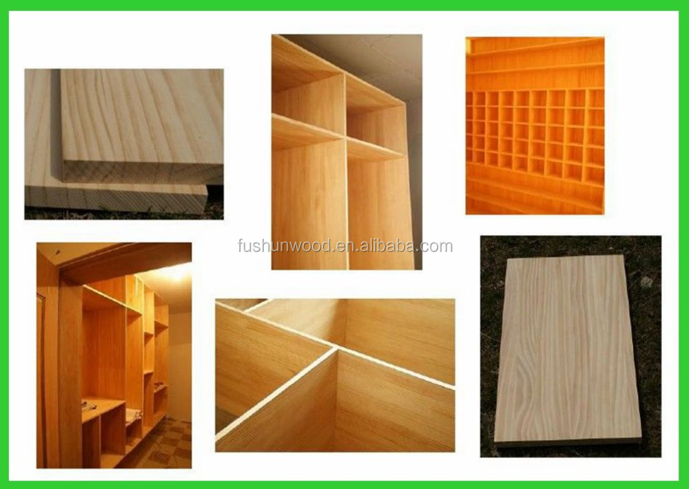 Pine wood finger joint board for furniture components