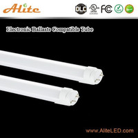 2016 new products Ballast compatible 10w 2ft led chinese red tube korea t8