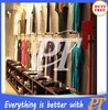 Wholesale high quality unisex clothing stores and shelves
