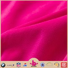 100% polyester super soft velboa micro fabric/short pile plush fabric/tricot brushed minky fabric