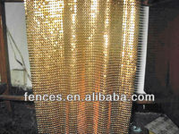 decorative metal mesh,decorative wire mesh for divider,outdoor curtain wall