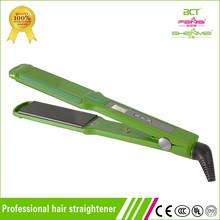 Name brand genie ceramic straightener hair straighteners with 450 farenheit degree temperature
