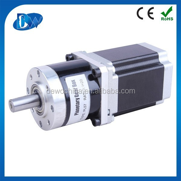 Nema 17 cheap stepper motor with gearbox gear reducer 1 8 for Stepper motor gear box