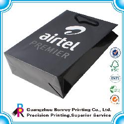 Logotipo personalizado promocional impresso saco de papel barato loja do projeto sacos