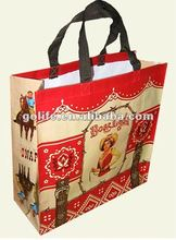 2012 new laminated pp woven promotional bag
