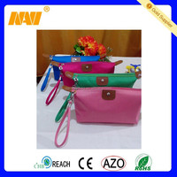 Promotional Satin Travel Toiletry Cosmetic Makeup Bag