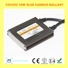 AC 12v 24v 35w CANBUS xenon H4 H7 35w hid electronic ballast bi xenon kit hid fast bright hid xenon kit slim ballast