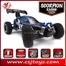 Wholesale RC Hobby Traxxas Torc 1/8 Scale 2.4GHZ Brushed 4x4 off road Buggy Scorpion racing car electirc