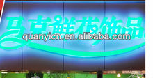 Acrylic LED channel letters illuminated sign