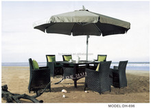 patio heater with bar table