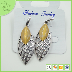 Promotional Great Vogue Antique Silver Earring Wholesale
