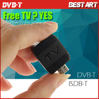 Newest Mini Android DVB-T/ISDB-T TV Tuner Receiver for Android Pad/Phone Mobile Device High Quality
