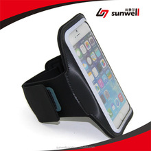 """Sports Gym Bike Cycle Jogging Armband With Dual Arm-Size Slots And Key Pocket Custom Made For iPhone 6 (4.7"""")"""