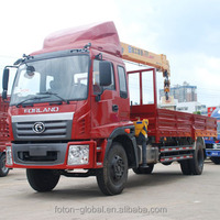 4X2 8T crane truck mounted crane