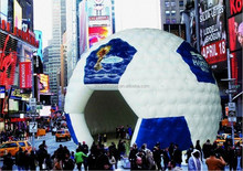 Giant custom design inflatable football dome tent