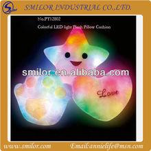 Colorful LED Light Plush Pillow