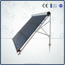 High antifreeze parabolic trough heat pipe vacuum tube solar collector
