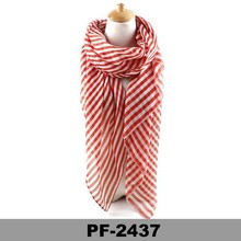 Women summer sexy Cutest stripe Large Scarf Shawl Pashmina Stole cheap pashmina viscose shawls