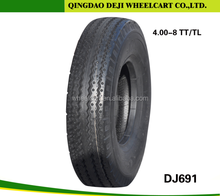 China motorcycle tire 4.00-8 TT/TL factory