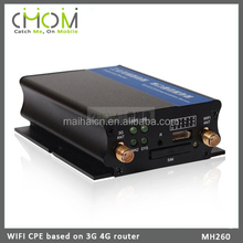 Monitor WIFI / 4G LTE CPE WIFI router with Aluminum alloy shell --- MH260