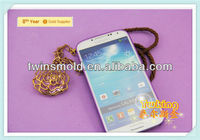 Colorful Exclusive cell to Anti-slip PP material Crystal mobile phone case for Samsung Galaxy S4
