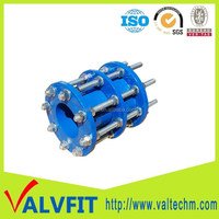 DN2000 big size ductile iron expansion joint dismantling joint