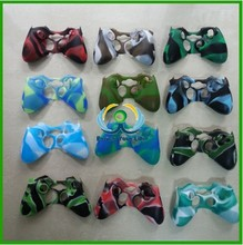 fast delivery relacement parts camouflage colorful silicone case for XBOX 360 Controller