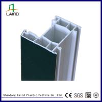white frame plastic pvc profile 60 casement series extrusion profile