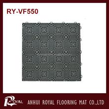 Outdoor Plastic Interlocking mat For Basketball/Tennis Court