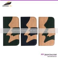 [Somostel] Mobile Phone Leather Case Genuine Vintage Retro Card Slot Flip Case Cover For SAMSUNG S6/ S6 Edge