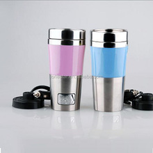 Home office high quality colourful stainless steel Electric Automotive Vacuum Flasks & Thermoses