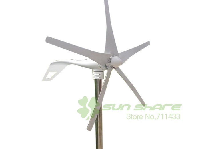 wind turbine 5 blades small wind mill low start up wind generator