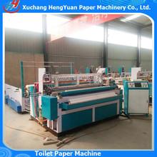 New Condition Tissue Paper Making Machine Toilet Paper Making , Small Model Toilet Paper Rewinding Machine