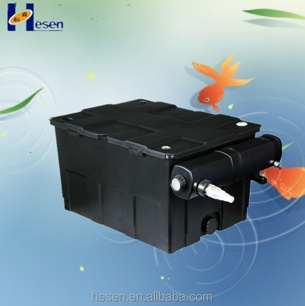 2015 new products big size pond koi box filter large for Large pond filter box