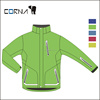 2014 full seam taped men polyester fabric lightweight trekking jacket customs crane snow ski wear