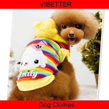 GYF-025 2015 Christmas Costume Best quality 100% cotton Christmas Santa Pet Costume Cosplay for dog clothes