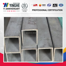 High strength small diameter welded stainless square steel pipe weld pipe