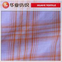 organic cotton yarn dyed fabric /shirt fabric/dresses