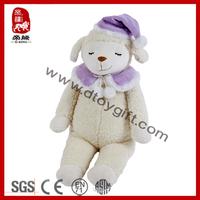 ICTI SEDEX Soft Sleeping Stuffed Baby Toy Lamb