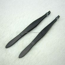 Cosmetic tool eyelash extension tweezers