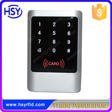 Metal case waterproof touch screen standalone smart access controller with 1000user