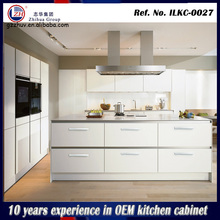 Modern high gloss kitchen cabinet laminate kitchen cabinet cylinder kitchen cabinet