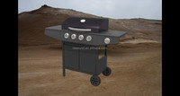 outdoor cooking 4 burner with 1 side burner bbq gas grill