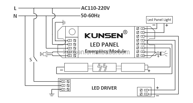 downlight wiring diagram  | 651 x 367