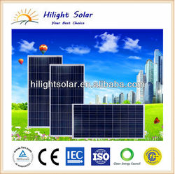 High effciency and low price 140W solar panel polycrystalline with TUV, IEC, CEC, CE, ISO