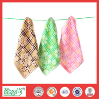 Brand Children Small Squares Face Towels Cloth 25 * 25