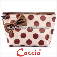 Fashion Cute Dot Easy Taking Cosmetic Bag for Traveling