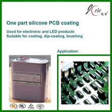 Electronics circuit board protection glue with good adhesion